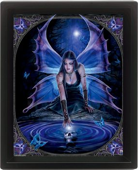ANNE STOKES - immortal 3D plakat indrammet