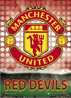MANCHESTER UNITED - glory 3D plakat