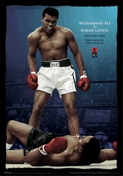 Ali vs Liston 3D Plakat