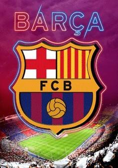 Barcelona - crest 3D Plakat