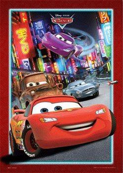 CARS - tokyo 3D Plakat