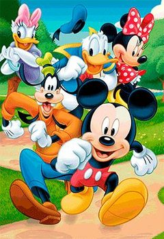 MICKEY MOUSE - classic 3D Plakat