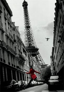 Red coat 3D Plakat