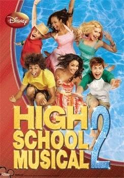 HIGH SCHOOL MUSICAL 2 3D Plakát, 3D Obraz