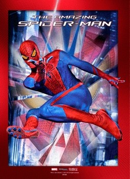 3D Plakát, 3D Obraz SPIDER-MAN AMAZING - stick with me