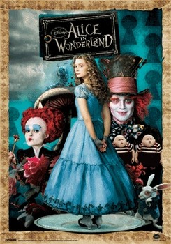 ALICE IN WONDERLAND 3D Poszter