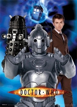DOCTOR WHO 3D Poszter