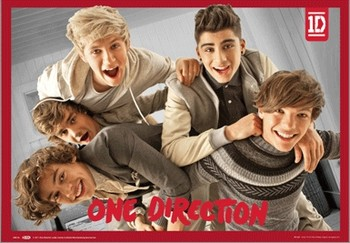 One Direction - band 3D Poszter