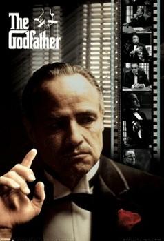 THE GODFATHER - film 3D Poszter
