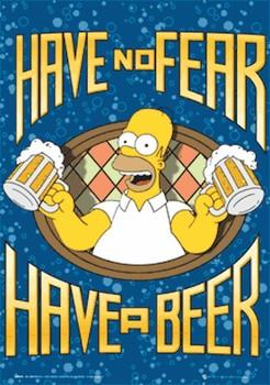The Simpsons - homer 3D Poszter