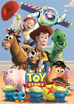 TOY STORY - main 3D Poszter