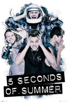5 Seconds of Summer - Headache - плакат (poster)