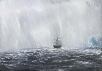 65 Degrees, 8 Minutes South.Terra Nova 9th Dec.1910. 2007, Festmény reprodukció