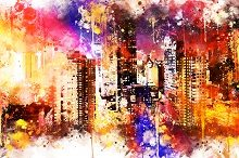 NYC Watercolor