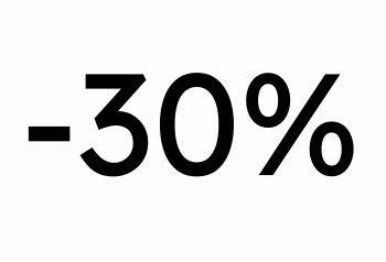 - 30%  - Rasprodaja