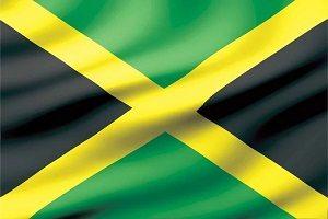 Jamaikansk flagga