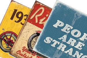Retro & Vintage - Carteles de metal