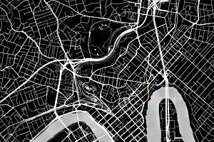 Fekete térképek egészben