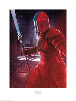 A Csillagok háborúja VIII: Az utolsó Jedik - Elite Guard Blade Festmény reprodukció