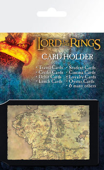 A Gyűrűk Ura - Középfölde Térképe kártyatartó