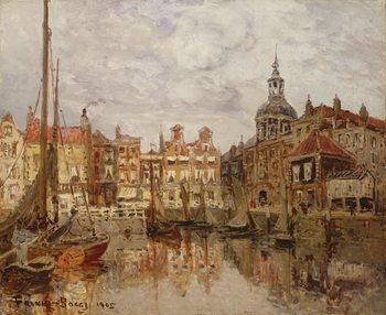 Εκτύπωση έργου τέχνης  A Port, 1905
