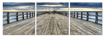 Abandoned pier Modern tavla