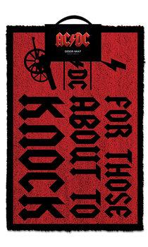 Πατάκι πόρτας AC/DC - For Those About To Knock
