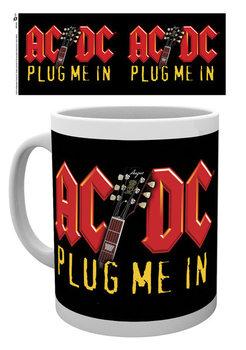 Becher AC/DC - Plug Me In