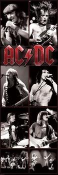 AC/DC - live 2 - плакат (poster)