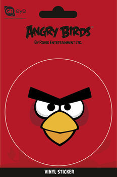 Angry Birds - Red Bird - adesivi in vinile
