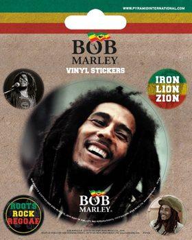 Bob Marley - adesivi in vinile
