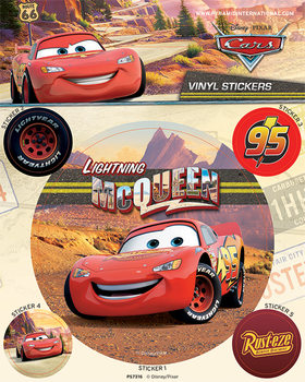 Cars - Lightning McQueen - adesivi in vinile