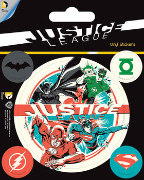 DC Comics - Justice League - adesivi in vinile