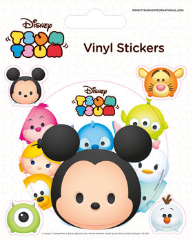 Disney Tsum Tsum - Faces - adesivi in vinile