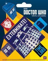 Doctor Who - Exterminate - adesivi in vinile