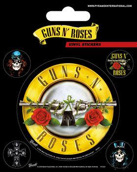 Guns N' Roses - Bullet Logo - adesivi in vinile