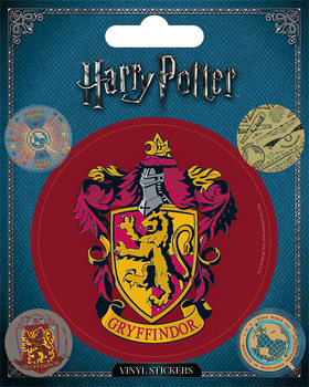 Harry Potter - Griffindor - adesivi in vinile