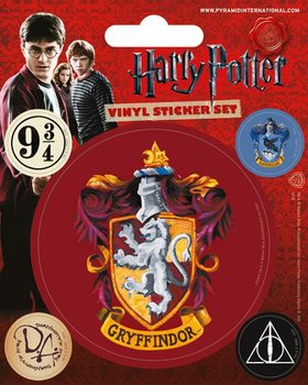 Harry Potter - Gryffindor - adesivi in vinile