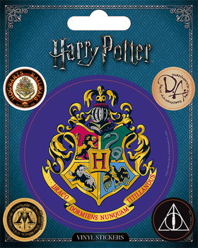 Harry Potter - Hogwarts - adesivi in vinile