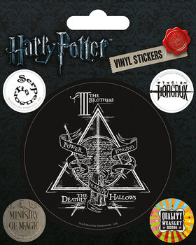 Harry Potter - Symbols - adesivi in vinile