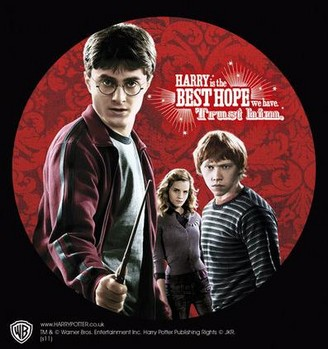 HARRY POTTER – trio - adesivi in vinile