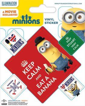 I Minion (Cattivissimo me) - Keep Calm - adesivi in vinile