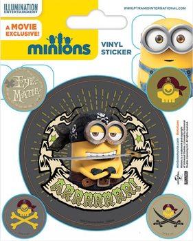 I Minion (Cattivissimo me) - Pirates - adesivi in vinile