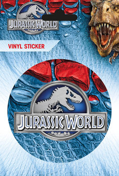 Jurassic World - Logo - adesivi in vinile