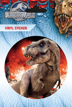 Jurassic World - T-Rex - adesivi in vinile