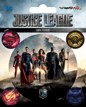 Justice League Movie - adesivi in vinile