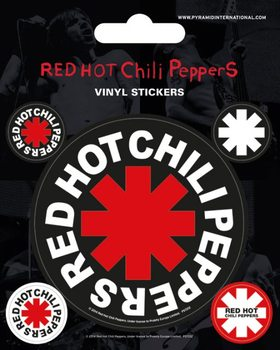 Red Hot Chili Peppers - adesivi in vinile