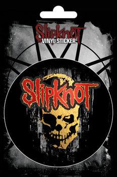 Slipknot - Skull - adesivi in vinile