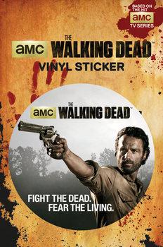 The Walking Dead - Rick - adesivi in vinile