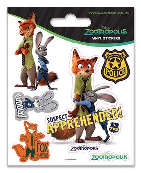 Zootropolis - Suspect Apprehended - adesivi in vinile